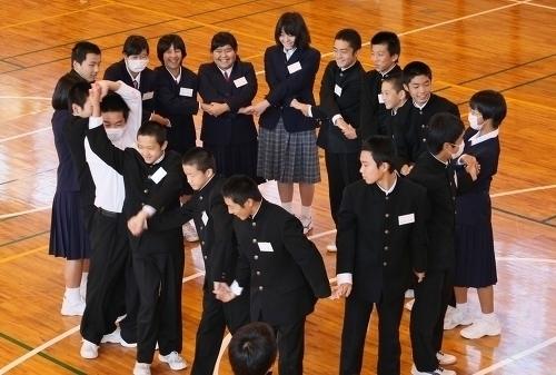 中学生 交流学習